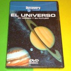 Cine: EL UNIVERSO SU ORIGEN Y SU FUTURO / DISCOVERY - PRECINTADA. Lote 87541076