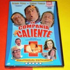 Cine: LA COMPAÑÍA CALIENTE / ALVARO VITALI & EDWIGE FENECH - PRECINTADA. Lote 172724185
