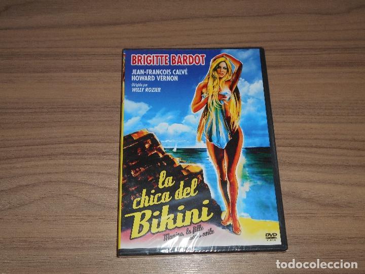 LA CHICA DEL BIKINI DVD BRIGITTE BARDOT NUEVA PRECINTADA (Cine - Películas - DVD)