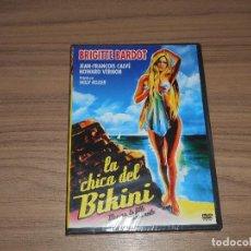 Cine: LA CHICA DEL BIKINI DVD BRIGITTE BARDOT NUEVA PRECINTADA. Lote 269215773