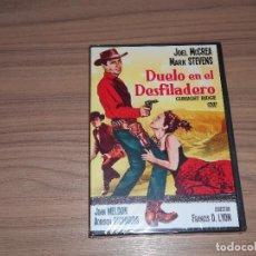 Cine: DUELO EN EL DESFILADERO DVD JOEL MCCREA MARK STEVENS NUEVA PRECINTADA. Lote 104378011