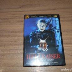 Cine: HELLRAISER EDICION ESPECIAL COLECCIONISTA 2 DVD TERROR NUEVA PRECINTADA. Lote 186394876