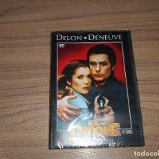 Cine: EL CHOQUE DVD ALAIN DELON CATHERINE DENEUVE NUEVA PRECINTADA. Lote 126244419
