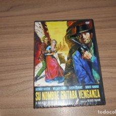 Cine: SU NOMBRE GRITABA VENGANZA DVD ANTHONY STEFFEN NUEVA PRECINTADA. Lote 98544460