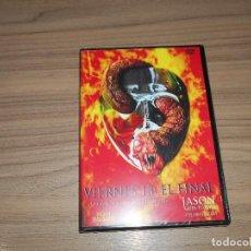 Cine: VIERNES 13 EL FINAL JASON SE VA AL INFIERNO DVD TERROR NUEVA PRECINTADA. Lote 206331080