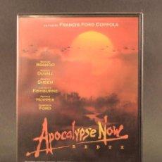 Cine: PELÍCULA DVD - APOCALYPSE NOW FRANCIS FORD COPPOLA - MARLON BRANDO, MARTIN SHEEN - BÉLICA. Lote 87614928