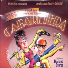 Cine: DVD OPERACIÓN CABARETERA - JOSÉ LUIS LÓPEZ VÁZQUEZ/ GRACITA MORALES. NUEVO. Lote 87953124