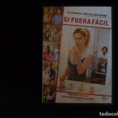 Cinema: SI FUERA FACIL - DVD CASI COMO NUEVO. Lote 253215265