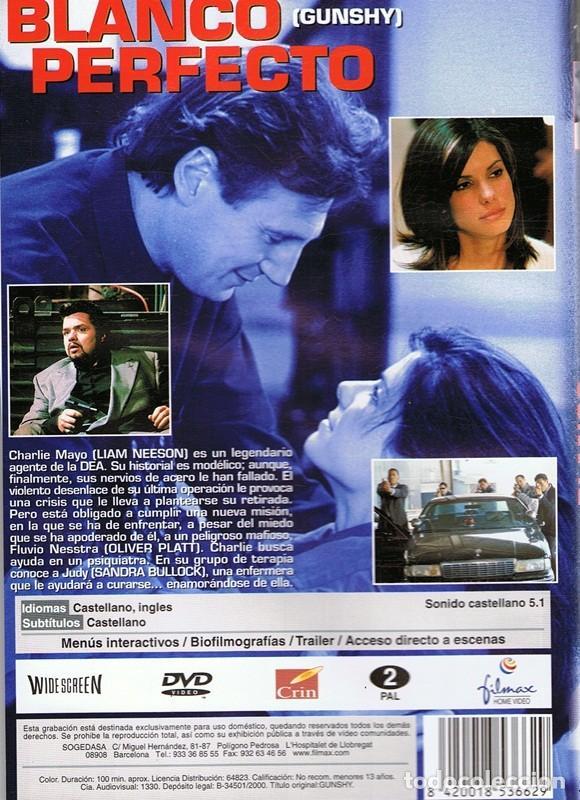 Cine: DVD BLANCO PERFECTO LIAM NEESON & SANDRA BULLOCK - Foto 2 - 88339880