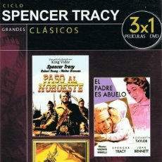 Cine: DVD CICLO SPENCER TRACY . Lote 88352328
