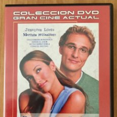 Cine: PLANES DE BODA - DVD - JENNIFER LOPEZ - MATTHEW MCCONAUGHEY. Lote 88762812