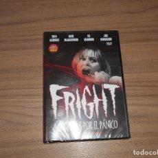 Cine: FRIGHT ACOSADAS POR EL PANICO DVD TERROR NUEVA PRECINTADA. Lote 126063374