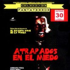 Cine: ATRAPADOS EN EL MIEDO EDICIÓN OFICIAL ESPECIAL LIMITADA PARA COLECCIONISTAS COLECCIÓN FANTATERROR. Lote 151549781