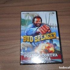 Cine: POLICIA CONTRA LA DROGA DVD BUD SPENCER NUEVA PRECINTADA. Lote 288866763