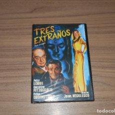 Cine: TRES EXTRAÑOS DVD PETER LORRE GERALDINE FITZGERALD PETER GREENSTREET NUEVA PRECINTADA. Lote 222644705