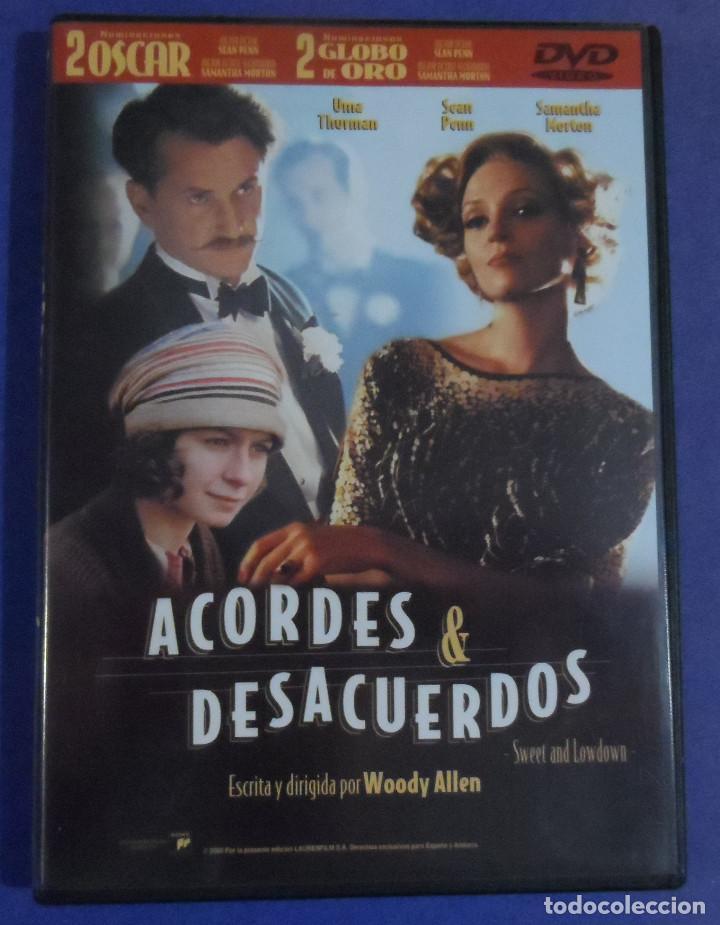 WOODY ALLEN. ACORDES Y DESACUERDOS. DVD. (Cine - Películas - DVD)