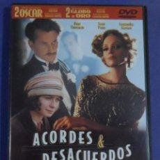 Cine: WOODY ALLEN. ACORDES Y DESACUERDOS. DVD.. Lote 88844768