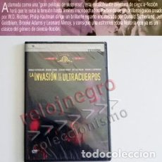Cine: LA INVASIÓN DE LOS ULTRACUERPOS DVD PELÍCULA CIENCIA FICCIÓN TERROR DONALD SUTHERLAND JEFF GOLDBLUM. Lote 88853248