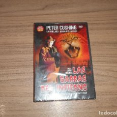 Cine: LAS GARRAS DEL INFIERNO DVD RAY MILLAND PETER CUSHING TERROR NUEVA PRECINTADA. Lote 126063259