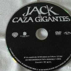 Cine: 4-DVD JACK EL CAZAGIGANTES, SIN CAJA. Lote 89399176