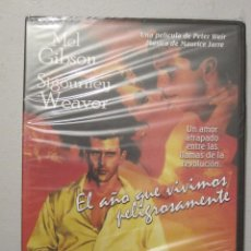 Cine: DVD EL AÑO QUE VIVIMOS PELIGROSAMENTE. Lote 89432984