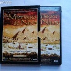 Cine: EL MISTERIO DEL NILO . 2 DVDS + LIBRETO. EDICION COLECCIONISTA. Lote 89453072