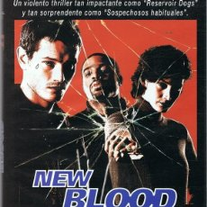 Cine: DVD NEW BLOOD JOHN HURT . Lote 89655940