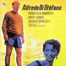 Cine: DVD SAETA RUBIA ALFREDO DI STÉFANO . Lote 89657876