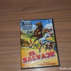 Cinema: EL SALVAJE DVD CHARLTON HESTON NUEVA PRECINTADA. Lote 221873023