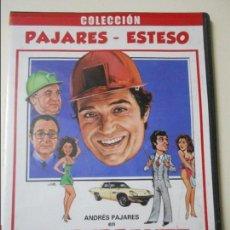 Cine: EL CURRANTE -COLECCION PAJARES-ESTESO- (CAJA FINA DE PLASTICO). Lote 90115952