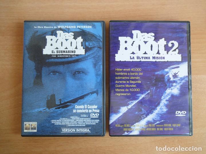 DAS BOOT + DAS BOOT 2 . SAGA COMPLETA. DVD. PERFECTO ESTADO (Cine - Películas - DVD)