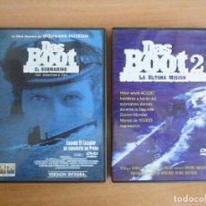 Cine: DAS BOOT + DAS BOOT 2 . SAGA COMPLETA. DVD. PERFECTO ESTADO. Lote 90130448
