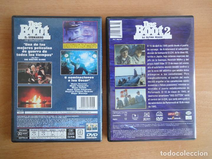 Cine: Das Boot + Das Boot 2 . Saga completa. DVD. Perfecto estado - Foto 2 - 90130448