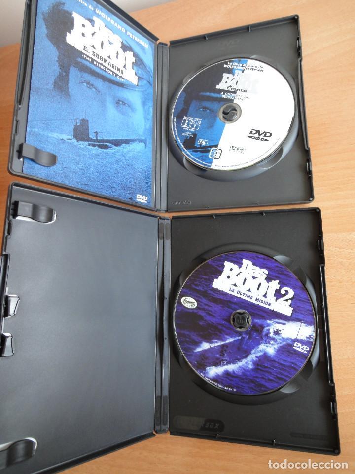 Cine: Das Boot + Das Boot 2 . Saga completa. DVD. Perfecto estado - Foto 3 - 90130448