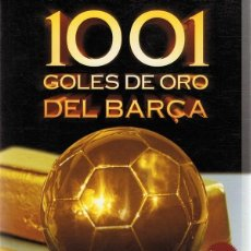 Cine: DVD 1001 GOLES DE ORO DEL BARÇA ( 4 DVD). Lote 90185384