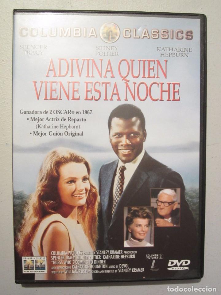 DVD ADIVINA QUIEN VIENE ESTA NOCHE (Cine - Películas - DVD)