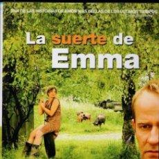 Cine: LA SUERTE DE EMMA DVD- SI MIRAS CON ATENCION, VERAS A TU LADO QUE HAY QUIEN TE QUIERE DE VERDAD. Lote 90391668