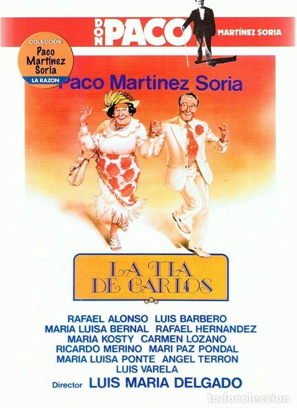 DVD LA TÍA DE CARLOS PACO MARTÍNEZ SORIA (Cine - Películas - DVD)