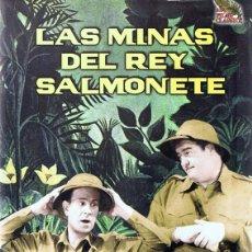 Cine: DVD LAS MINAS DEL REY SALMONETE LOU COSTELLO & BUD ABBOT. Lote 210620138