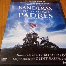 Cine: BANDERAS DE NUESTROS PADRES 126 MIN USA 2006. Lote 90835105