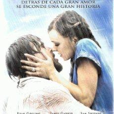 Cine: DVD EL DIARIO DE NOA RYAN GOSLING . Lote 90876695