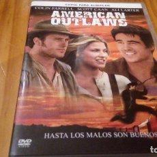 Cine: AMERICAN OUTLAWS USA 91 MIN. Lote 91010465