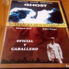 Cine: GHOST Y OFICIAL Y CABALLERO 122 Y 119 MIN USA. Lote 91010635