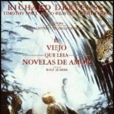 Cine: EL VIEJO QUE LEIA NOVELAS DE AMOR DE ROLF DE HEER. Lote 194923125