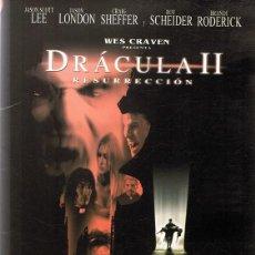 Cine: DVD DRÁCULA II RESURRECCIÓN . Lote 91055730