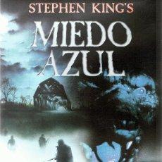 Cine: DVD MIEDO AZUL STEPHEN KING´S . Lote 91090335