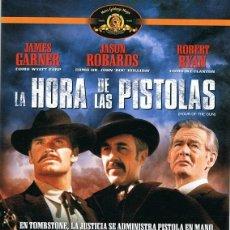 Cine: DVD LA HORA DE LAS PISTOLAS JAMES GARNER . Lote 91102430