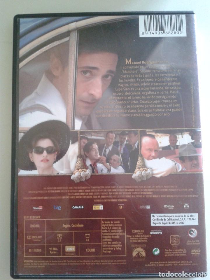 Cine: Manolete ** DE Menno Meyjes CON Adrien Brody, Penelope Cruz, Nacho Aldeguer, Enrique Arce ** - Foto 2 - 91108485