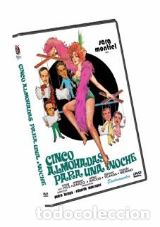 CINCO ALMOHADAS PARA UNA NOCHE DVD NUEVO SARA MONTIEL, CRAIG HILL (Cine - Películas - DVD)