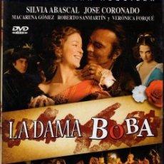 Cine: LA DAMA BOBA DVD (JOSÉ CORONADO) -SUPER-DESCATALOGADA. UNICA EN TODOCOLECCION!!. Lote 180284498